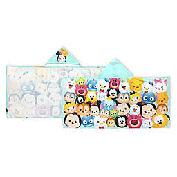 Disney® Tsum Tsum Stacks on Stacks Hooded Bath Towel