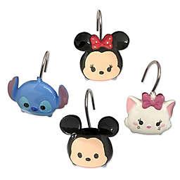 Disney® Tsum Tsum Stacks on Stacks Shower Curtain Hooks