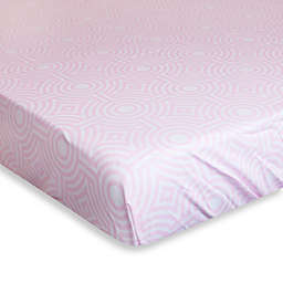 Jonathan Adler® Crafted by Fisher-Price® Sorrento Fitted Crib Sheet in Pink