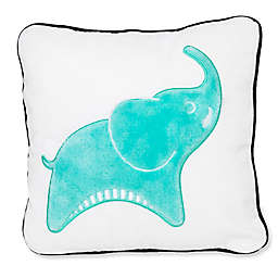 Jonathan Adler® Crafted by Fisher-Price® Elephant Square Throw Pillow