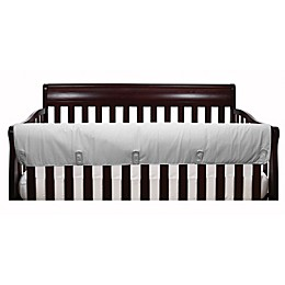 The Peanutshell™ Solid Crib Rail Guard in Grey