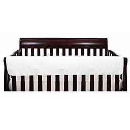 The Peanutshell™ Solid Crib Rail Guard in White