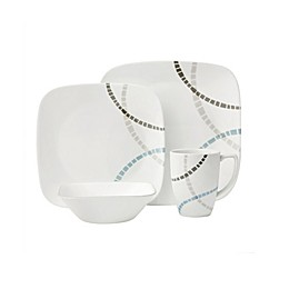 Corelle® Boutique Mosaic Bands 16-Piece Dinnerware Set