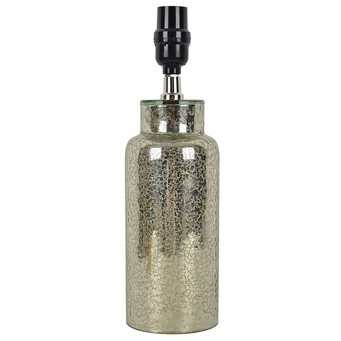 Alternate image 1 for Mix & Match Lamp Collection with Small Mercury Glass Lamp Base