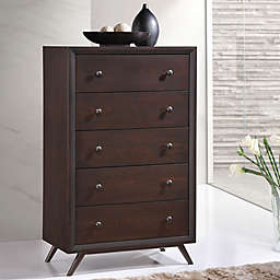 Modway Tracy Chest in Brown