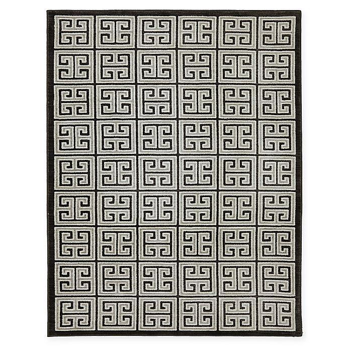 Alternate image 1 for Karastan Pacifica Highgate 9-Foot 6-Inch x 12-Foot 11-Inch Area Rug in Black