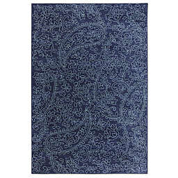 Karastan Pacifica Kingston Rug in Indigo