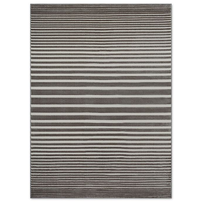 Alternate image 1 for Beckett Stripe Area Rug in Taupe