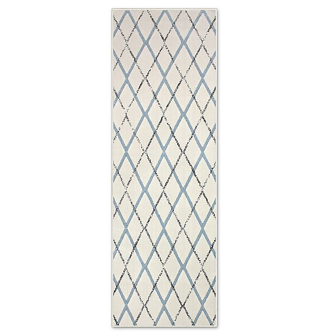 Alternate image 1 for Carpet Art Deco Palma Lattice 1'10\