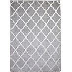 Home Dynamix Oxford 7-Foot 10-inch x 10-Foot 2-Inch Shag Area Rug in Grey