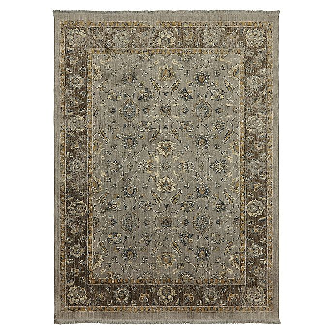 Alternate image 1 for Mohawk Home® Filmour 6-Foot 7-Inch Rug x 9-Foot Area Rug in Taupe