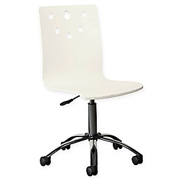Stone & Leigh™ Smiling Hill Desk Chair in Marshmallow White