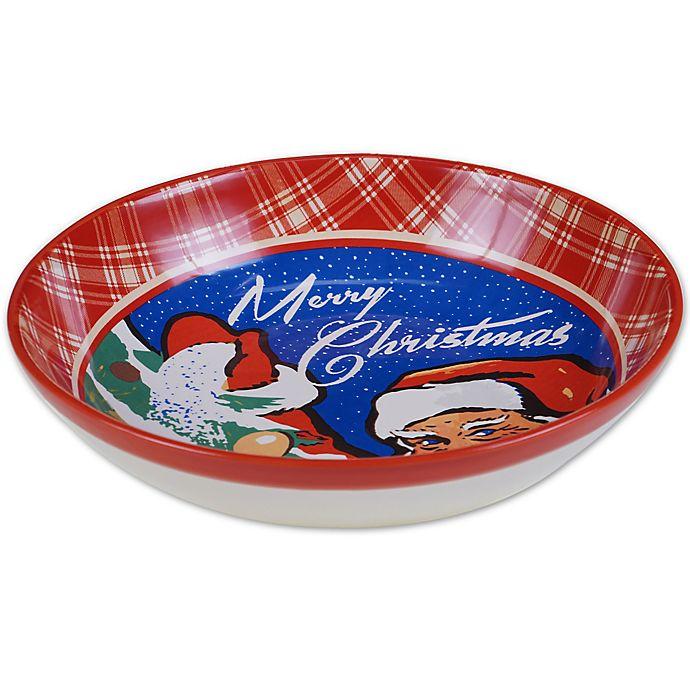 Alternate image 1 for Certified International® Retro Christmas Serving/Pasta Bowl