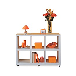 Organize It All Dawn Collection 6-Section Bookcase