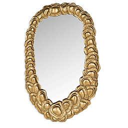 Safavieh Garland 14.25-Inch x 23-Inch Mirror in Antique Gold