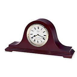 Bulova Annette II Table Clock in Walnut