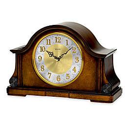 Bulova Chadbourne Table Clock in Walnut