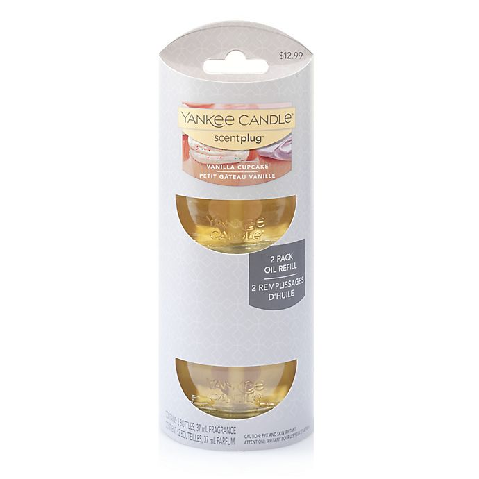 Alternate image 1 for Yankee Candle® Scentplug® Vanilla Cupcake Refill (Set of 2)