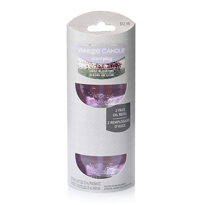 Alternate image 1 for Yankee Candle® Scentplug® Lilac Blossoms Refill (Set of 2)