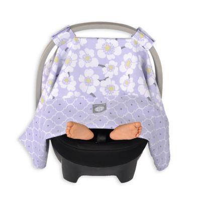 Balboa BabyR Car Seat Canopy In Lavender Poppy