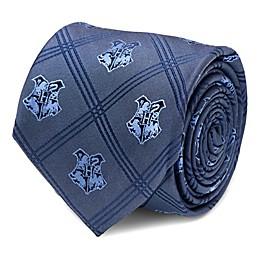 Harry Potter Hogwarts Plaid Tie in Blue