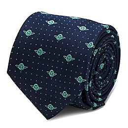Star Wars™ Yoda Dot Tie in Navy