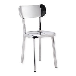 Zuo® Winter Stainless Steel Dining Chairs (Set of 2)