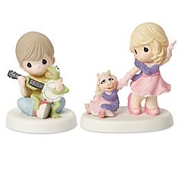 Precious Moments® Kermit and Miss Piggy Frienship Figurines