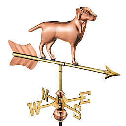 Good Directions Labrador Cottage Weathervane with Roof Mount