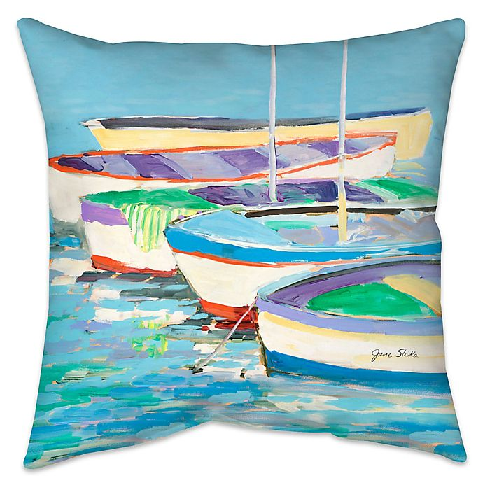 Alternate image 1 for Row Your Boat Indoor/Outdoor Throw Pillow