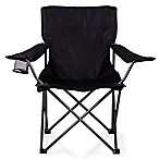 Picnic Time® PTZ Camp Chair in Black