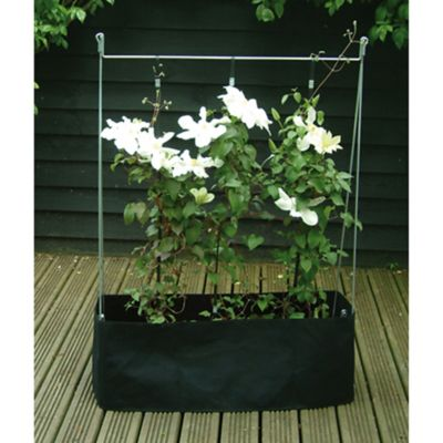 Vertical Grow Frame In Grey Bed Bath Amp Beyond
