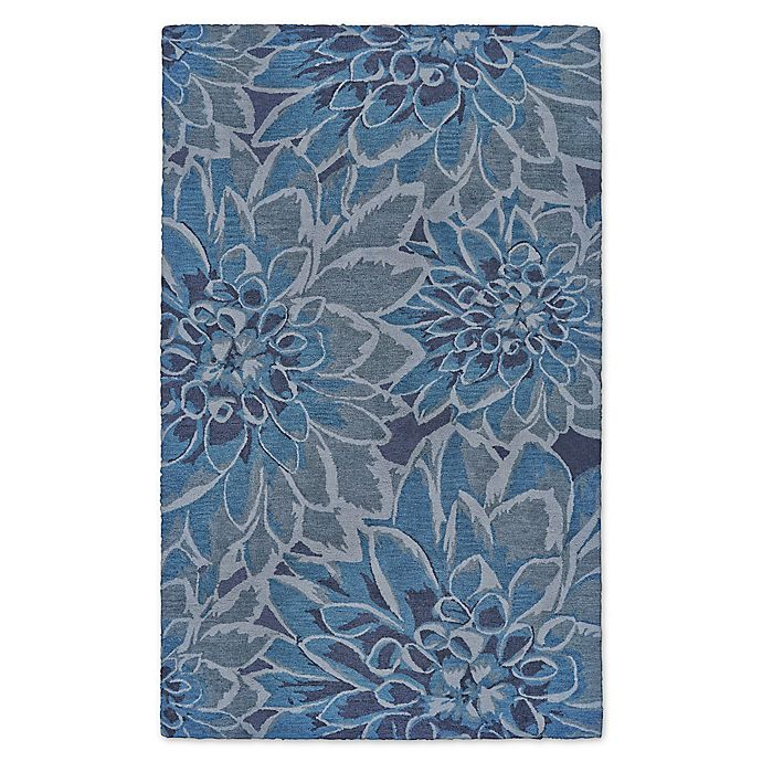 Alternate image 1 for Feizy Lonni Bloom Burst Indoor/Outdoor Area Rug in Blue