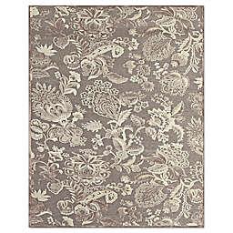 Feizy Penelope Floral 8-Foot 8-Inch x 12-Foot 7-Inch Indoor/Outdoor Rug in Grey