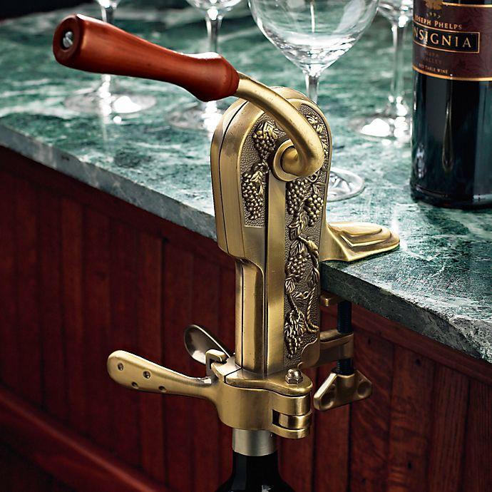 Alternate image 1 for Wine Enthusiast Legacy Bronze Corkscrew