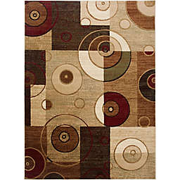 Home Dynamix Tribeca Contemporary Reaction 7-Foot 10-Inch x 10-Foot 6-Inch Area Rug in Multicolor