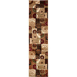 Home Dynamix Tribeca Contemporary Reaction 1-Foot 9-Inch x 7-Foot 2-Inch Runner in Multicolor
