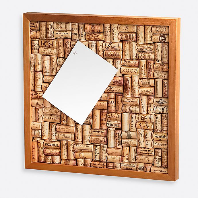 Alternate image 1 for Wine Enthusiast 16-Inch x 16-Inch Cork Board Kit