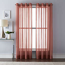 Wamsutta Grommet Top Sheer Window Curtain Panel
