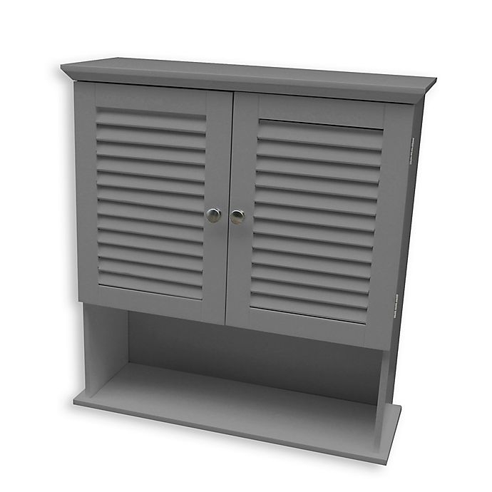 Alternate image 1 for Summit Wall Cabinet in Grey
