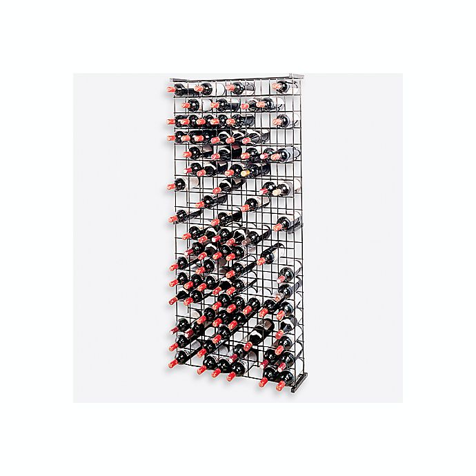 Alternate image 1 for Wine Enthusiast 144-Bottle Metal Grid Wine Rack