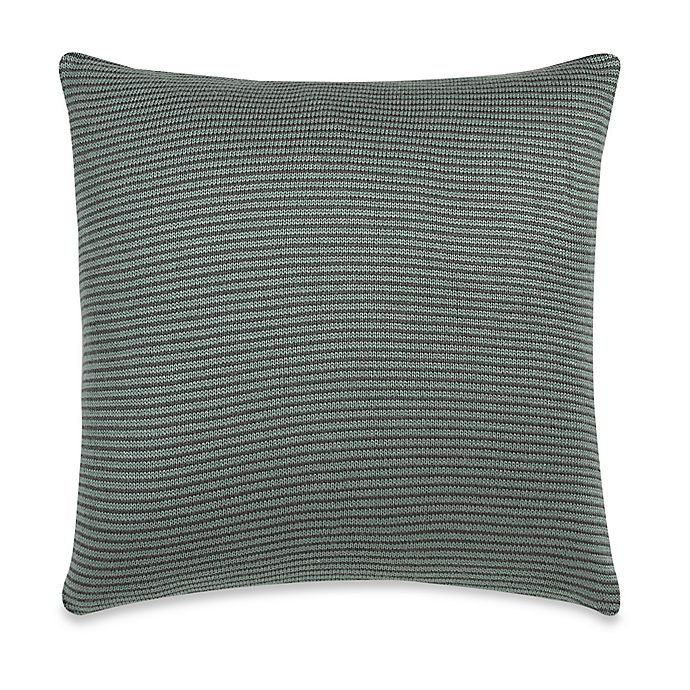 Kenneth Cole New York Escape Striped Square Throw Pillow