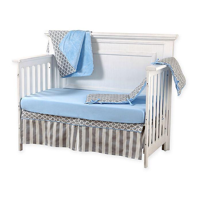 Alternate image 1 for Pali™ Sogno 4-Piece Crib Bedding Set in Blue