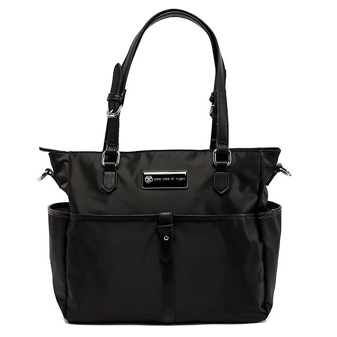 Alternate image 1 for Cee Cee & Ryan Josie Diaper Bag in Black