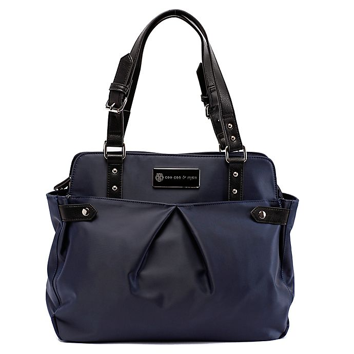 Alternate image 1 for Cee Cee & Ryan Justine Diaper Bag in Midnight Blue