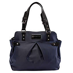 Cee Cee & Ryan Justine Diaper Bag in Midnight Blue