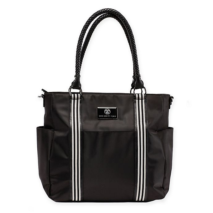 Alternate image 1 for cee cee & ryan Jolynn Diaper Bag in Black