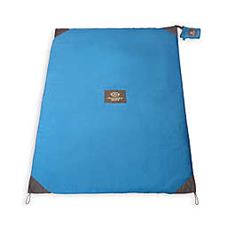 Monkey Mat® with 3-Foot x 5-Foot Compact Pouch in Blue