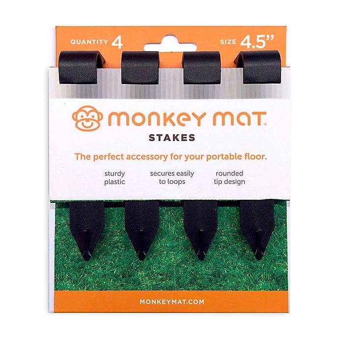 Alternate image 1 for Monkey Mat® 4-Pack  Stake set