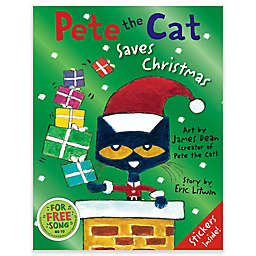 """Pete the Cat Saves Christmas"" by Eric Litwin"